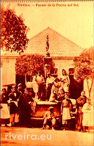Puerta del Sol ano 1914