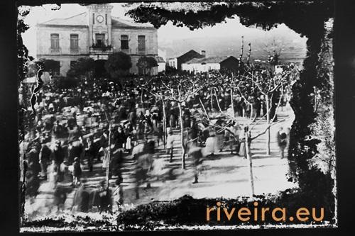 CAmpo do Fraile 1915. Fotografía Manuel Cores