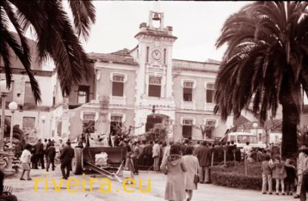 1974. Derrube da Casa Consistorial Foto González