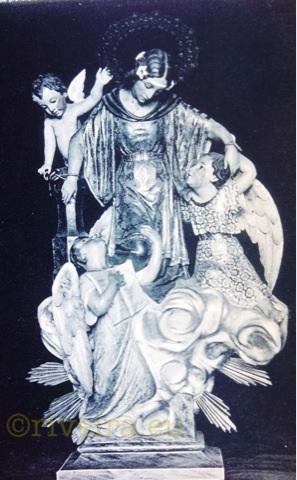 1920 Patrona Santa Uxía (Riveira). Arquivo Joferpa