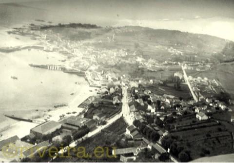 1950 Vista aérea de Riveira. Arquivo Joferpa. Foto PE