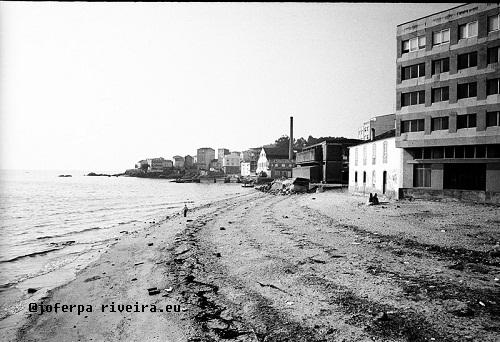 1982 Praia de Colomer en 1982. Arquivo Joferpa