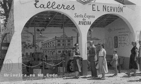 Talleres El nervión. Avenida José Antonio Riveira (1948)