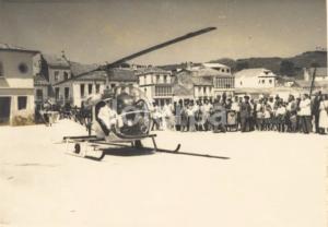 Helicóptero  en Santa Uxía