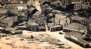 1960 aprx. Riveira Praza de abastos e lonxa