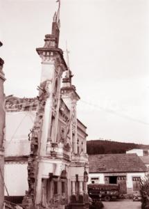 1974 edificio Consistorial de Riveira